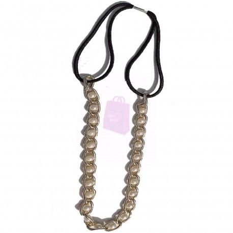 Pearl Chain Headband