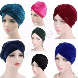 Velvet Turban Hijab Scarf