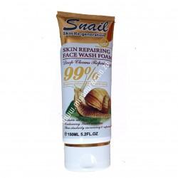 Wokali Snail Skin Repairing Face Wash Foam