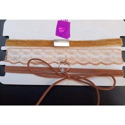 3pc Choker Necklace Set