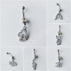 Belly Barbell with Charm