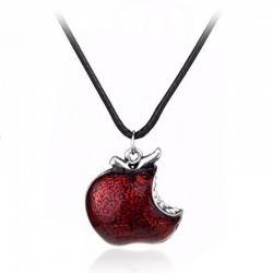 Once Upon A Time Apple Pendant Necklace