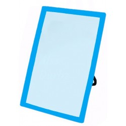 Mirror with Plastic Frame Stand