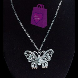 Butterfly Pendant Necklace 2