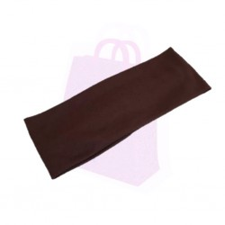 Plain Fabric Headband - Maroon