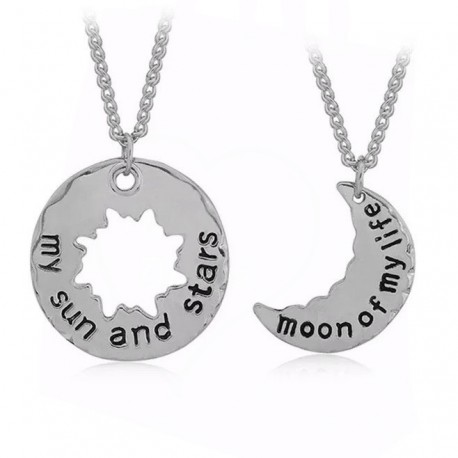 Game of Thrones 2Pc Necklace