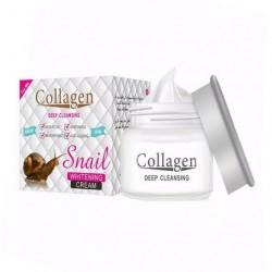 Collagen Deep Cleansing Snail Whitening Cream